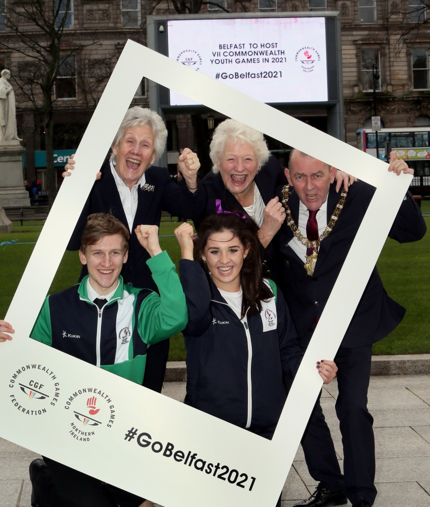 Commonwealth Youth Games will help rebuild peaceful communities in Northern Ireland, CGF President claims