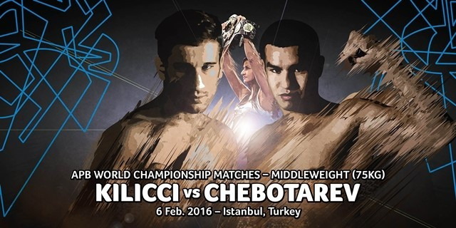 Turkey's Kilicci set to defend APB World Middleweight Championship on home soil