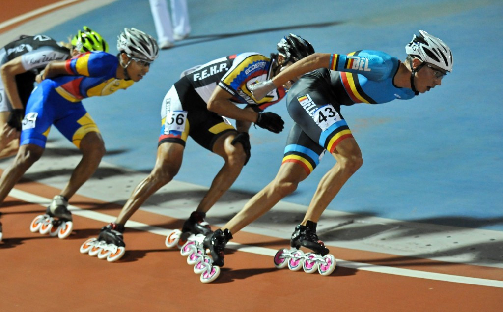 The first-ever World Roller Games has been relocated from Barcelona to Nanjing