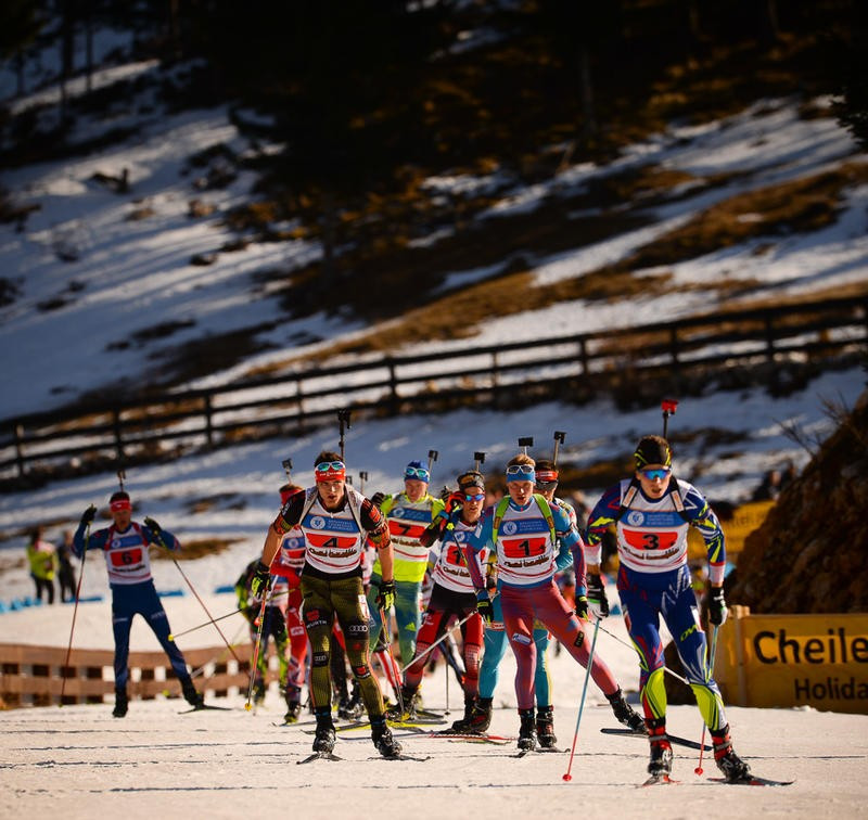 Russia came out on top in the men's junior relay