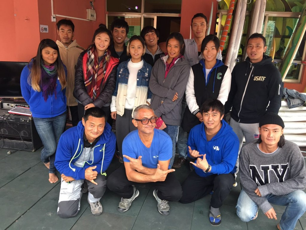 More than a dozen surf instructors have completed the ISA surf and flat water SUP level one course, held in Houhai, China ©ISA