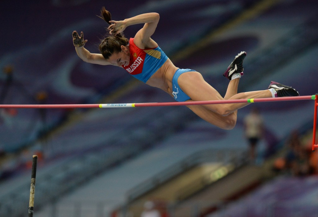Yelena Isinbayeva has stated it would be a scandal if Russian athletes are banned by the IAAF from Rio 2016 ©Getty Images
