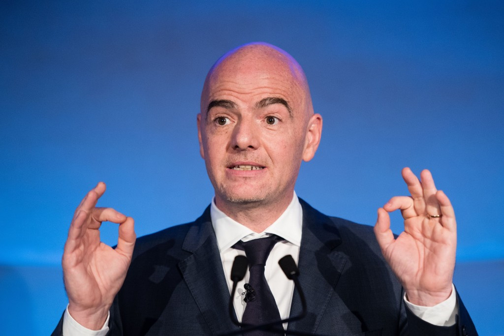 Russian Football Union confirms backing for Infantino in FIFA Presidential race