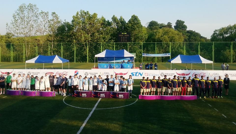 Argentina strike blind football gold at IBSA World Games