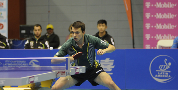 Brazil claim male and female team double at ITTF Latin American Championships