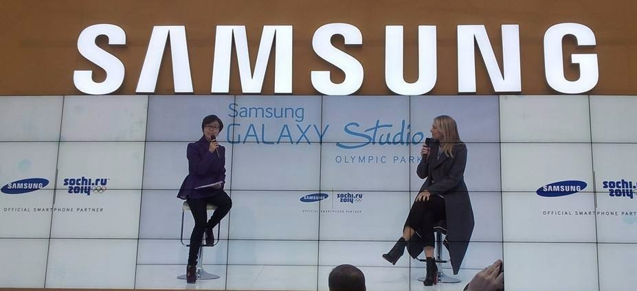 Olympic TOP sponsor Samsung has been a major presence at other recent Games including Sochi 2014, where tennis player Maria Sharapova appeared as an ambassador ©ITG