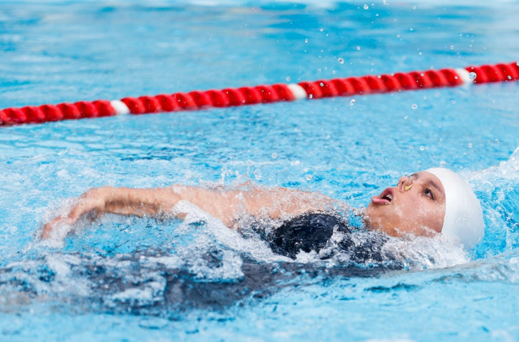 Edenia Garcia won silver in the women's 50m backstroke S4 event at the 2013 World Championships