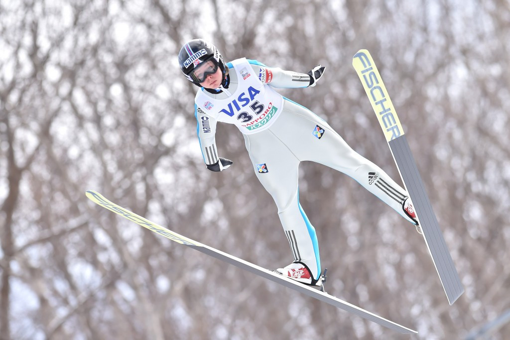 Norway's Maren Lundby finished a distant second today in the Norwegian resort ©Getty Images