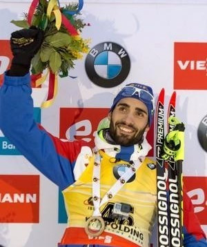Fourcade sprints to victory on opening day of IBU World Cup in Canmore