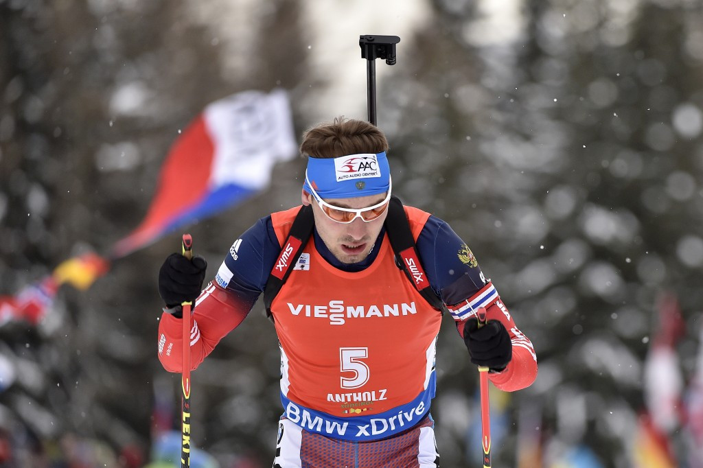 Russia's Anton Shipulin had to settle for second