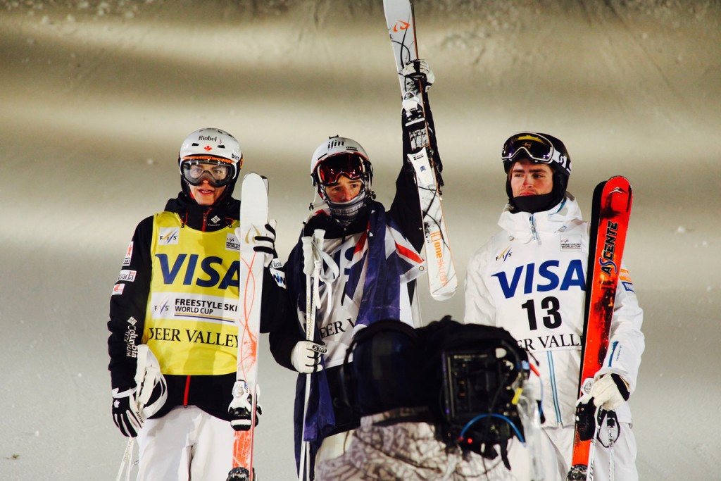 Graham beats Kingsbury to earn maiden FIS Freestyle World Cup victory