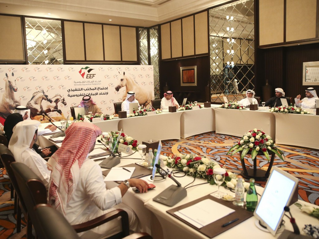 The Executive Board of the Emirates Equestrian ©EEF