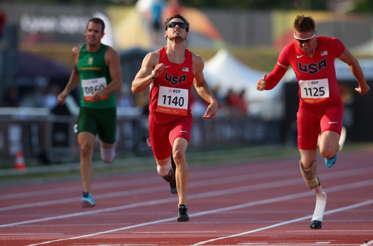 Wallace wins all-American battle to claim 100m spoils at home IPC Athletics Grand Prix