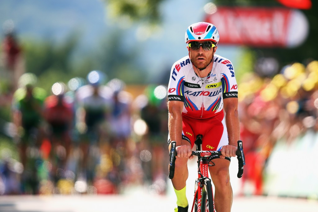 Katusha could face a suspension of up to 45 days after this latest positive drugs test, which followed one involving Italy's Luca Paolini for cocaine at last year's Tour de France ©Getty Images