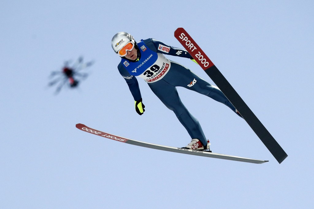 Pole leaps to qualification lead at Holmenkollen-leg of FIS Ski Jumping World Cup