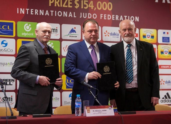 International Judo Federation sign new agreement to help develop sport in Commonwealth