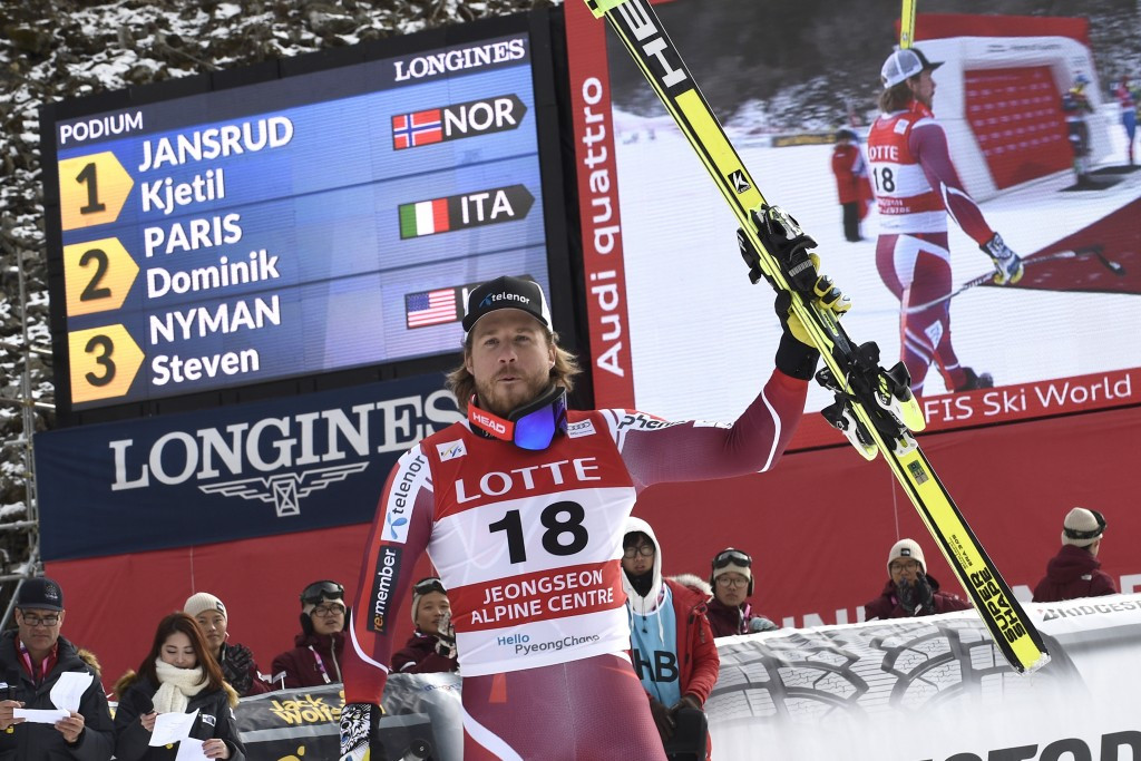 Norway's Kjetil Jansrud took victory in the downhill race at the first-ever Alpine Skiing World Cup to be held in South Korea, the opening test event for the 2018 Winter Olympics in Pyeongchang ©Getty Images