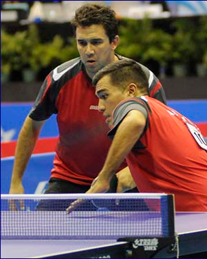 Top seeds Alto and Tabachnik advance to men's doubles final at ITTF Latin American Championships