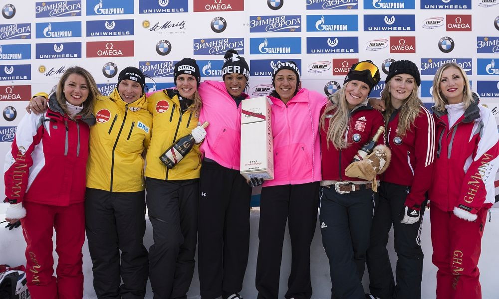 American Meyers Taylor marks return to Bobsleigh World Cup action with victory in St Moritz