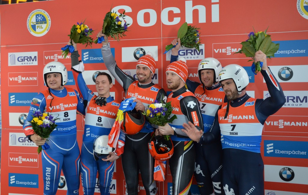 German duo Wendl and Arlt make Luge World Cup history with Sochi success
