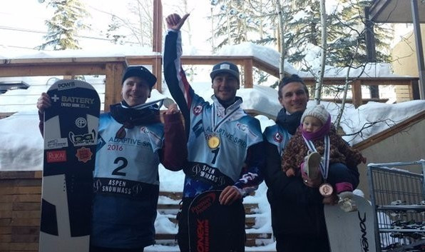 Double gold for hosts United States at IPC Snowboard World Cup in Aspen