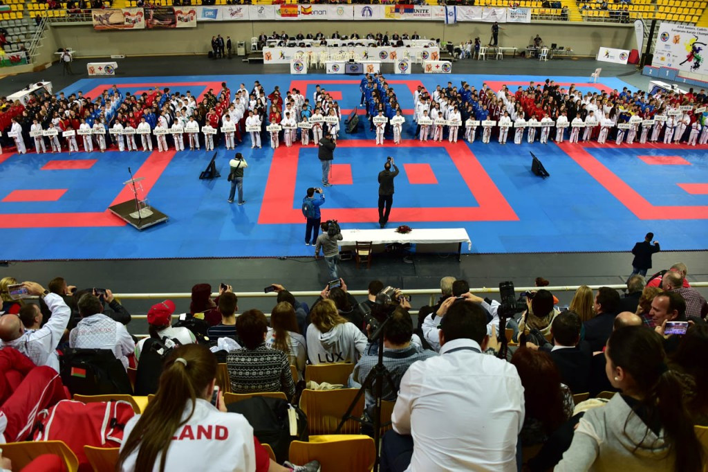 Reigning world champion Philippe helps France to hat-trick of golds at EKF Cadet, Junior and under-21 Championships