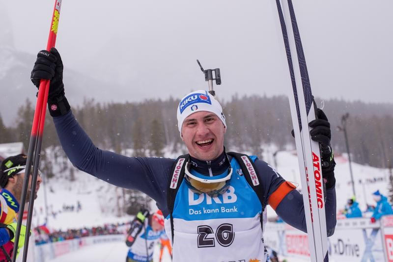 Italy's Dominik Windisch clinched his first-ever IBU World Cup win ©IBU