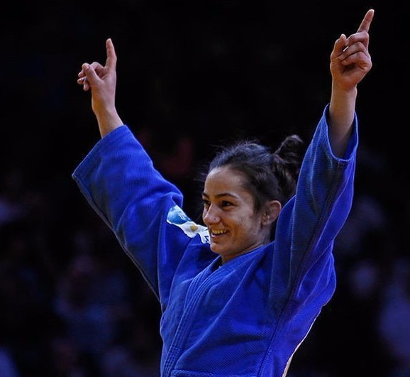 Kosovo's  Majlinda Kelmendi is unbeaten in the Paris Grand Slam since 2013 ©IJF