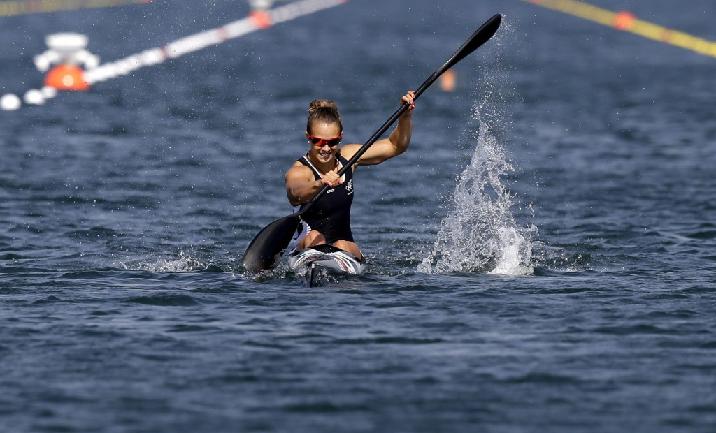 Brendel and Carrington lead Olympic champion-charge at Canoe Sprint World Cup