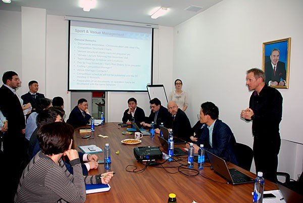 FISU director praises progress ahead of Almaty 2017 Winter Universiade