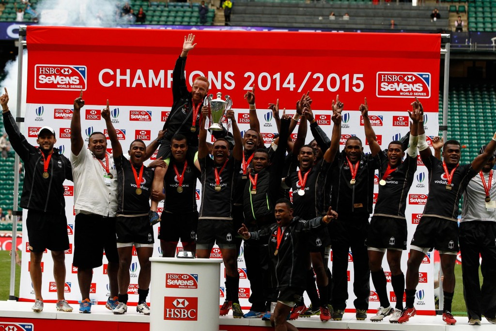 Fiji secure Sevens World Series title as US claim historic Cup win in London