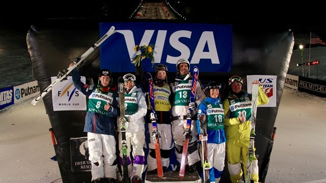 Dufour-Lapointe extends FIS Freestyle World Cup moguls lead with victory in Deer Valley