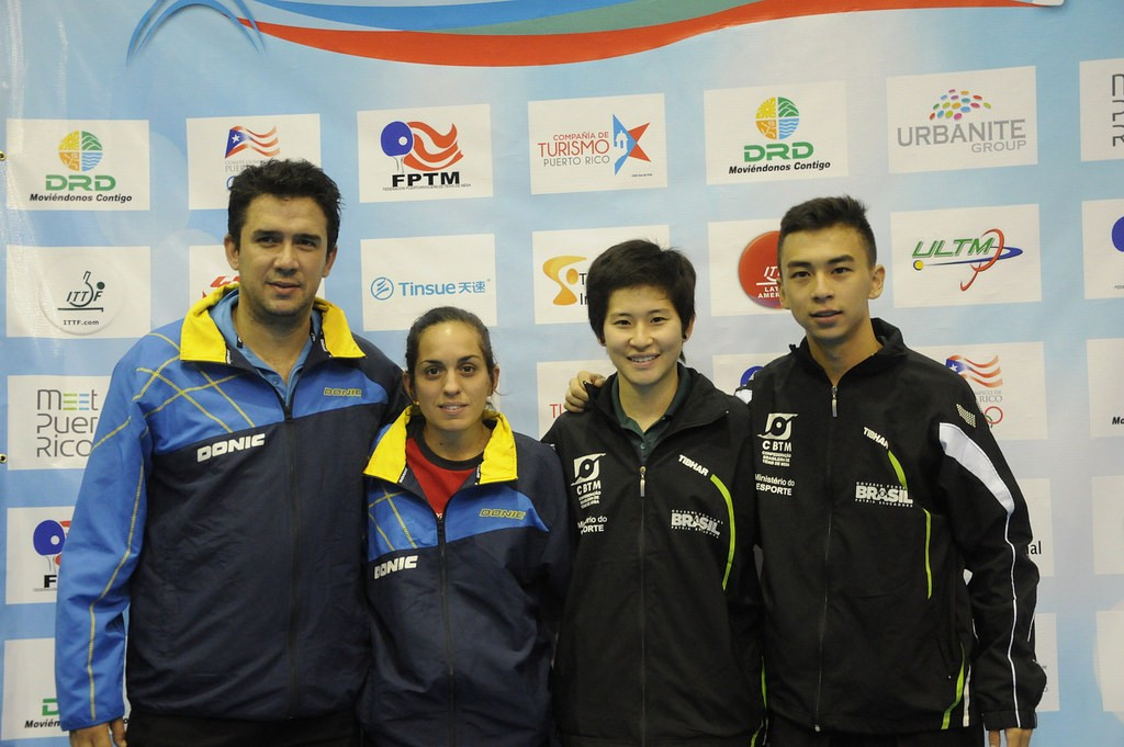 Brazilian success continues at Latin American Championships with mixed doubles triumph
