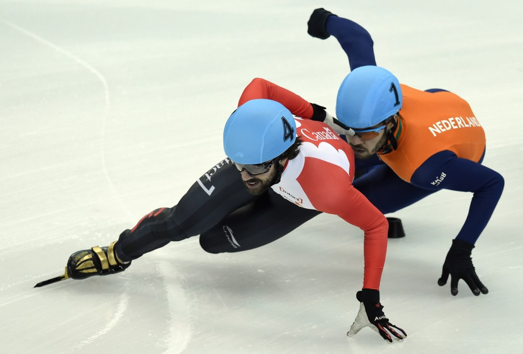 Hamelin and St-Gelais skate to second victories at ISU Short Track World Cup