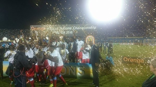 Democratic Republic of Congo win second African Nations Championship title after beating Mali in final