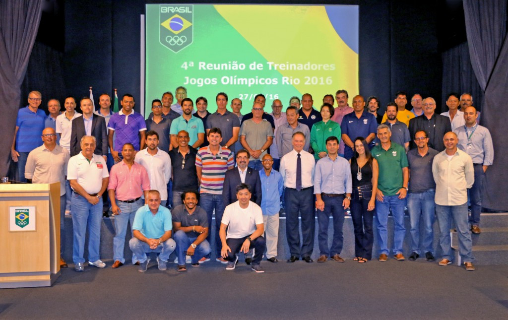 Brazil Olympic Committee hosts meeting of coaches as Rio 2016 preparations continue for home nation