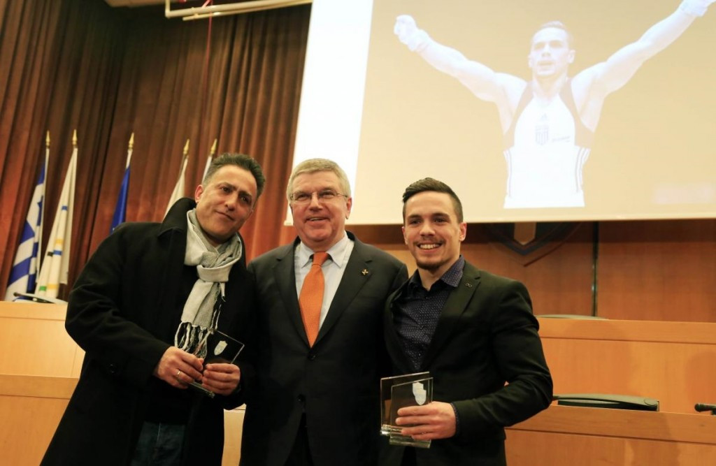 World Championship medallists honoured at Hellenic Olympic Committee awards