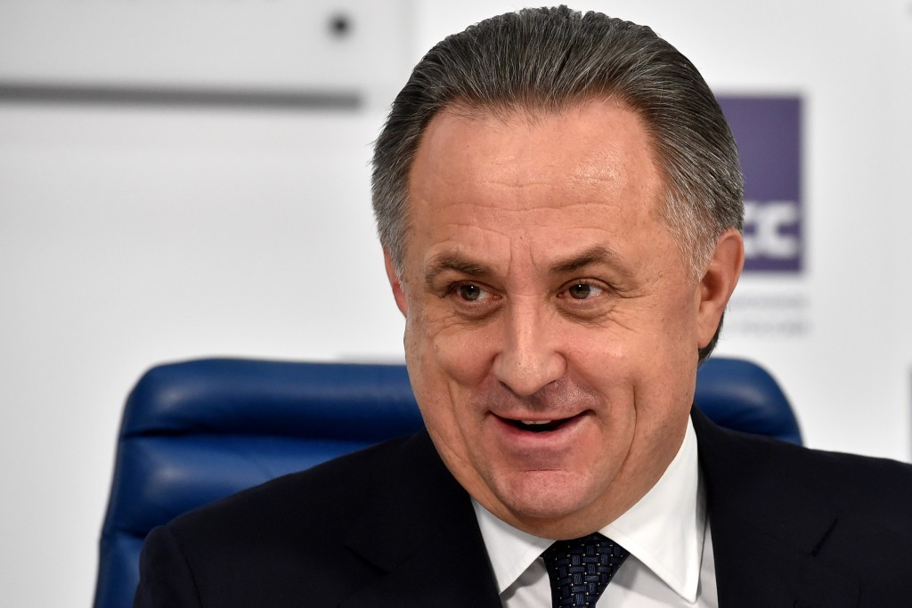 Mutko claims Shaikh Salman and Infantino could join forces ahead of FIFA Presidential election