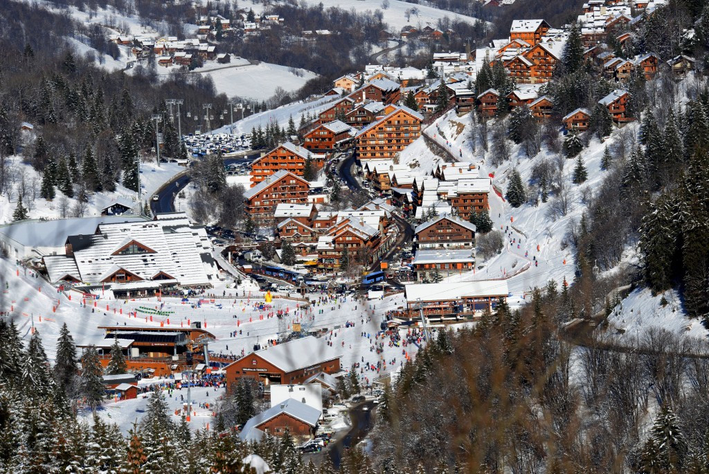 Meribel is one of two resorts set to co-launch a French bid for the 2023 Alpine World Championships ©Getty Images
