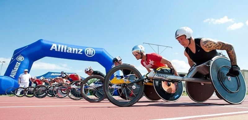 Allianz will continue their longstanding partnership with the Paralympics ©Allianz