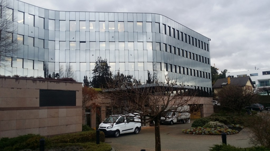 The IOC have moved into temporary headquarters in Pully, close to the Olympic Museum ©IOC