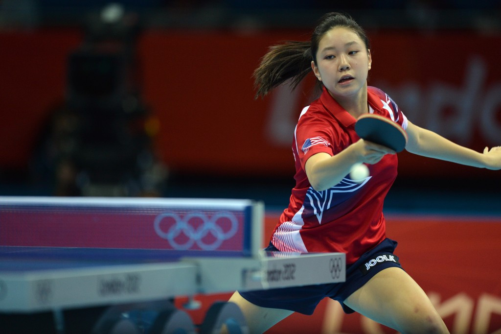 Past Olympians among winners at US Olympic table tennis trials as road to Rio 2016 continues