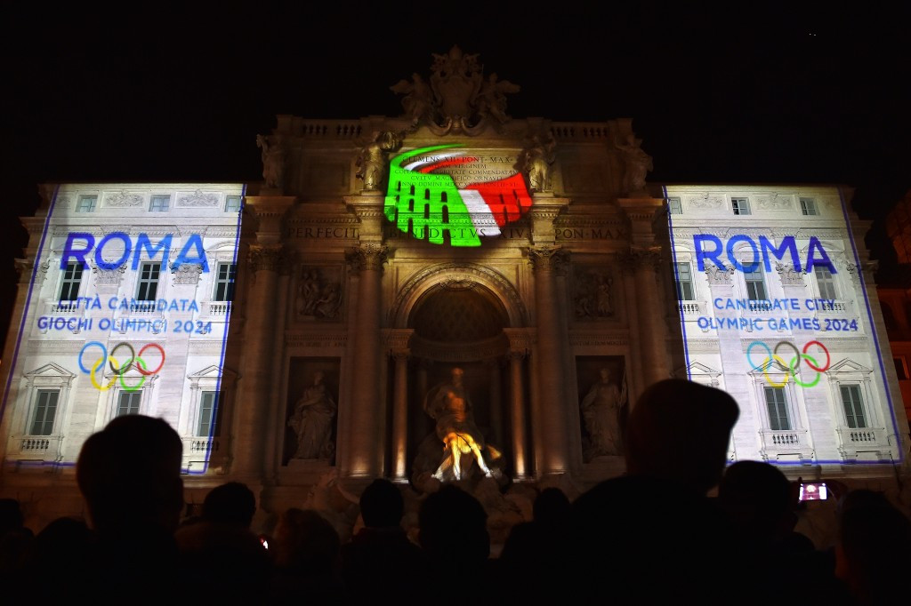Rome hopes to host the Olympics for the first time since 1960 in 2024
