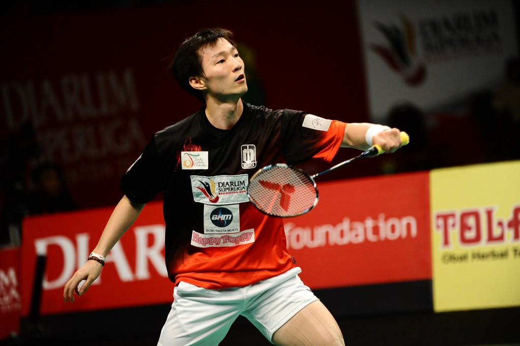 Korean top seed safely through at BWF Thailand Masters