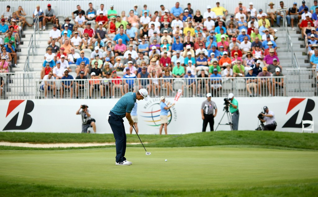 The company is the title sponsor of the Bridgestone Invitational, one of the World Golf Championships on the PGA Tour