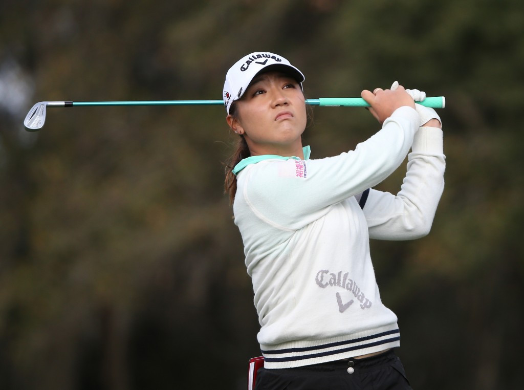 Lydia Ko became golf's youngest world number one in 2015