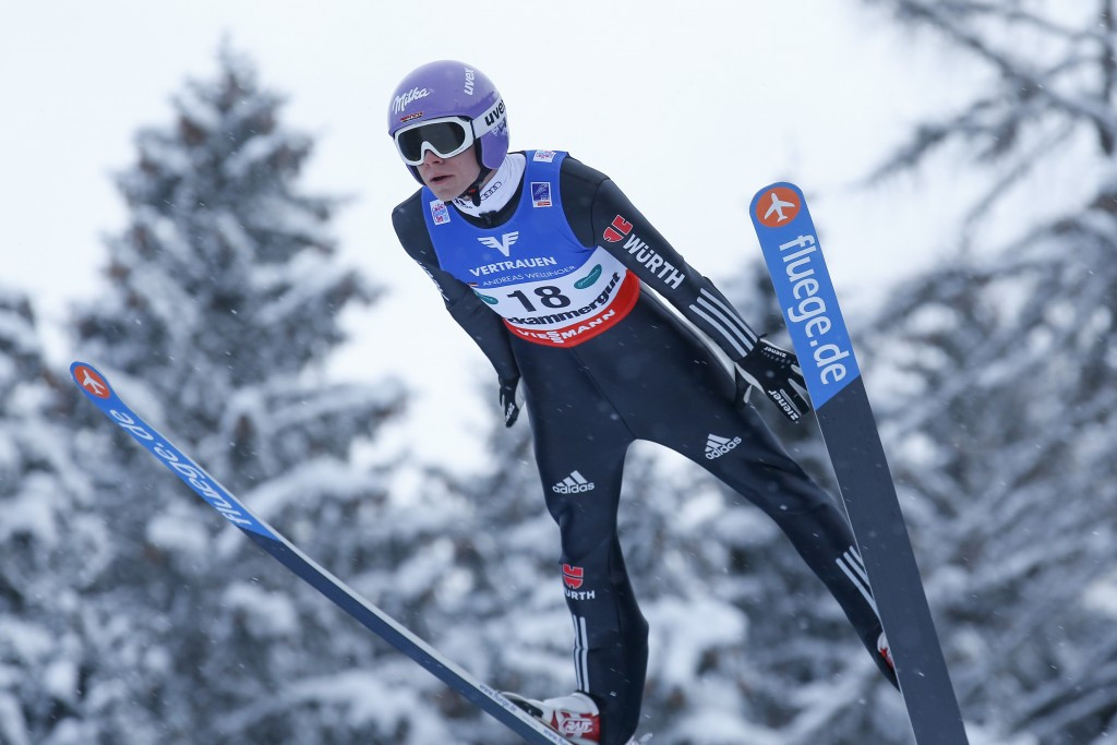 Germany's Andreas Wellinger won ski-jumping gold at Innsbruck 2012 and then at Sochi 2014 ©Getty Images