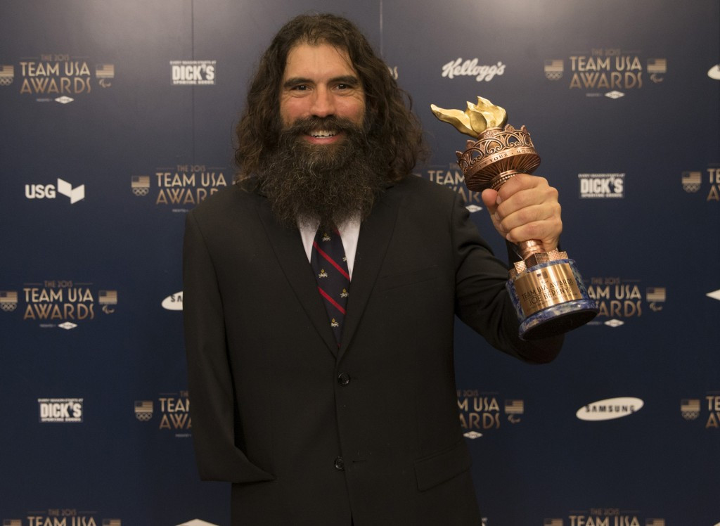 Joe Berenyi was named men's Paralympic Athletes of the Year at the USOC annual awards