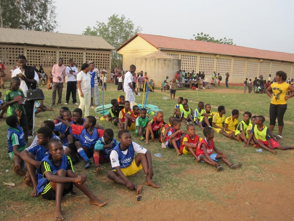Nestlé were the sponsor of the IAAF Kids Athletics programme