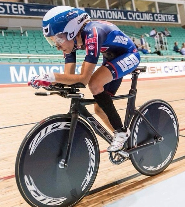 US Paralympics has announced its team for the Para-cycling Track World Championships, including Jamie Whitmore  ©Facebook